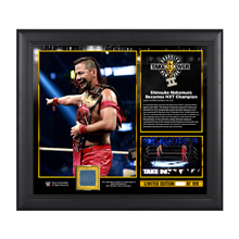 NXT Takeover: Brooklyn II Shinsuke Nakamura 15 x 17 Framed Plaque w/ Ring Canvas