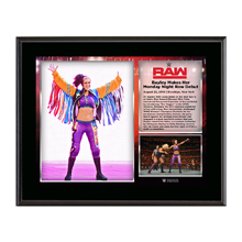 Bayley Raw Debut 2016 10 x 13 Commemorative Photo Plaque