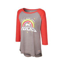 "The New Day ""New Day Rocks"" Women's Raglan T-Shirt"