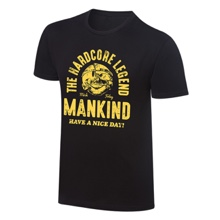 "Mankind ""The Hardcore Legend"" Vintage T-Shirt"