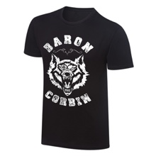 "Baron Corbin ""Lone Wolf"" Vintage T-Shirt"
