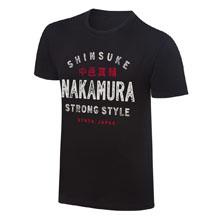 "Shinsuke Nakamura ""Strong Style"" Vintage T-Shirt"