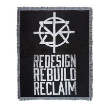"Seth Rollins ""Redesign, Rebuild, Reclaim"" Tapestry Blanket"