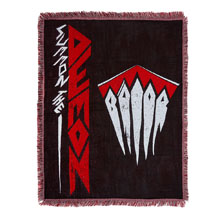 "Finn Bálor ""Demon Arrival"" Tapestry Blanket"