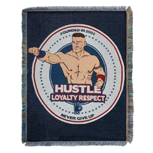 "John Cena ""HLR"" Tapestry Blanket"