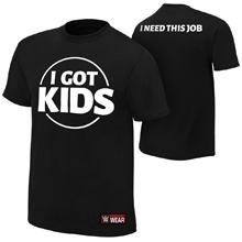 "Heath Slater ""I Got Kids"" Authentic T-Shirt"