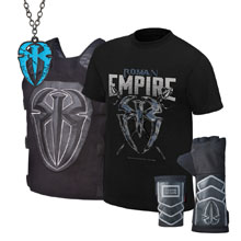 """Roman Reigns """"Roman Empire"""" Youth T-Shirt Package"""