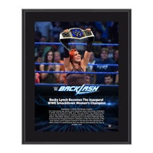 Becky Lynch Backlash 2016 10 x 13 Photo Plaque