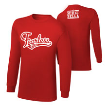 """Nikki Bella """"Stay Fearless"""" Youth Long Sleeve T-Shirt"""