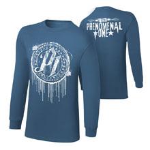 "AJ Styles ""P1"" Youth Long Sleeve T-Shirt"