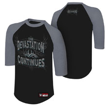"Goldberg ""Devastation Continues"" Raglan Shirt"