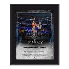 Nikki Bella No Mercy 2016 10 x 13 Photo Plaque