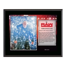"Goldberg ""Return to RAW"" Commemorative 10 x 13 Photo Plaque"