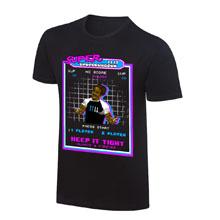 "WWE x NERDS Xavier Woods ""Super UpUpDownDown""  T-Shirt"