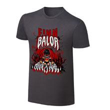 """WWE x NERDS Finn Bálor """"Demon King Rises """" Cartoon T-Shirt"""