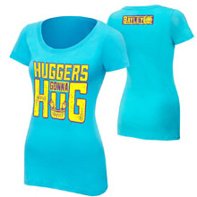 "Bayley ""Hugger's Gonna Hug"" Women's Authentic T-Shirt"