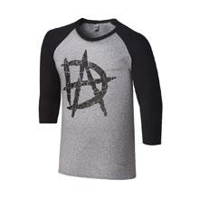 """Dean Ambrose """"DA"""" Raglan T-Shirt"""