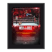 The New Day Hell In A Cell 10 x 13 Commemorative Photo Plaque