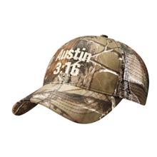 Stone Cold Steve Austin Camo Baseball Hat