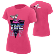 "Dolph Ziggler ""All The Way"" Women's Authentic T-Shirt"