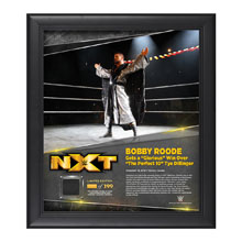 Bobby Roode TakeOver Toronto 15 x 17 Framed Plaque w/ Ring Canvas