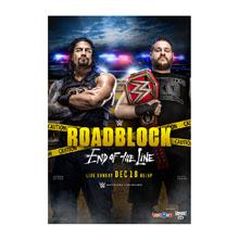 WWE RoadBlock 2016 Poster