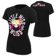 "Alexa Bliss ""Little Miss Bliss"" Women's Authentic T-Shirt"