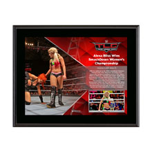 Alexa Bliss TLC 2016 10 x 13 Commemorative Photo Plaque