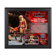 Alexa Bliss TLC 2016 15 x 17 Framed Plaque w/ Ring Canvas