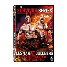 WWE Survivor Series 2016 DVD
