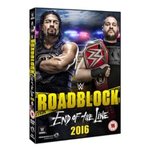 WWE RoadBlock 2016 DVD