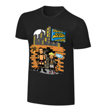 "WWE x NERDS Enzo & Cass  ""Realest Guys in The Room"" Cartoon T-Shirt"