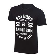 "Gallows and Anderson ""No One Is Safe"" Vintage T-Shirt"