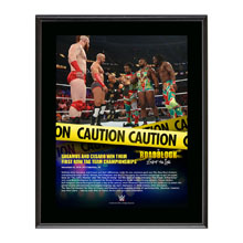 Sheamus & Cesaro RoadBlock 2016 10 x 13 Commemorative Photo Plaque