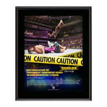Rich Swann RoadBlock 2016 10 x 13 Commemorative Photo Plaque