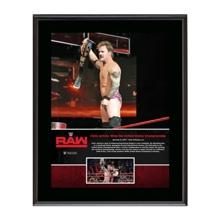 """Chris Jericho """"First U.S. Championship Reign""""  10 x 13 Commemorative Photo Plaque"""