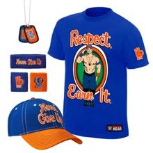"John Cena ""Respect. Earn It."" T-Shirt Package"