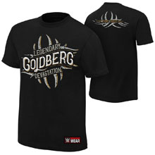 "Goldberg ""Legendary Devastation"" Authentic T-Shirt"