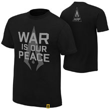 "Authors of Pain ""War is our Peace"" Authentic T-Shirt"