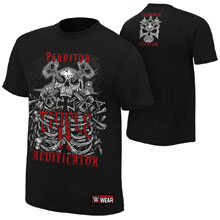 "Triple H ""Destroyer, Creator"" Authentic T-Shirt"