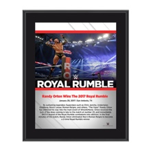 Randy Orton Royal Rumble 2017 10 x 13 Commemorative Photo Plaque