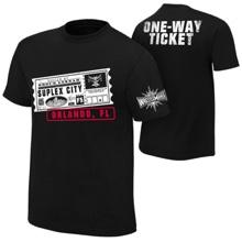 "Brock Lesnar ""One Way Ticket"" Orlando Youth T-Shirt"