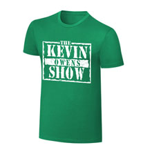 "Kevin Owens ""Kevin Owens Show"" St. Patrick's Day T-Shirt"