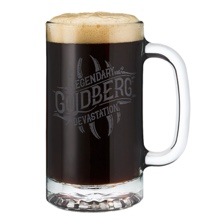 Goldberg 16oz. Glass Mug