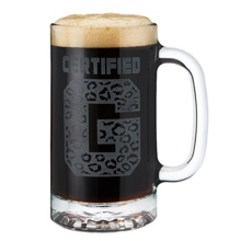 Enzo & Big Cass 16oz. Glass Mug