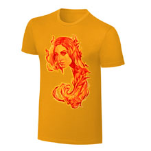 Becky Lynch 2017 Rob Schamberger Art Print T-Shirt