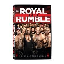 WWE Royal Rumble 2017 DVD