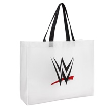 WWE Logo White Canvas Bag