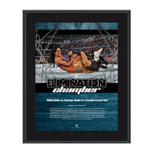 Nikki Bella & Natalya Elimination Chamber 2017 10 x 13 Commemorative Photo Plaque