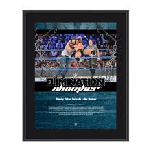 Randy Orton Elimination Chamber 2017 10 x 13 Commemorative Photo Plaque